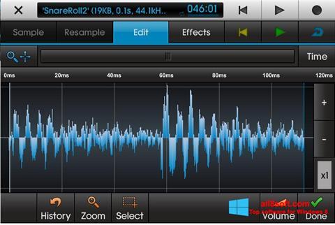 Capture d'écran NanoStudio pour Windows 8