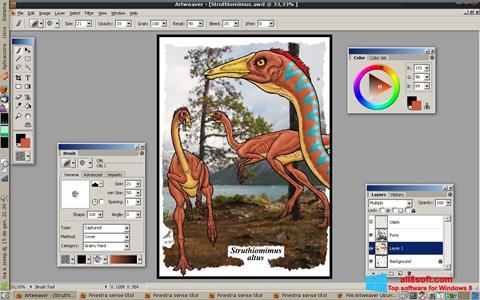 Capture d'écran Artweaver pour Windows 8