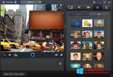 Capture d'écran CyberLink YouCam pour Windows 8
