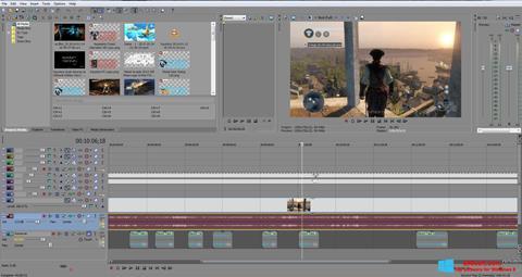 Capture d'écran Sony Vegas Pro pour Windows 8