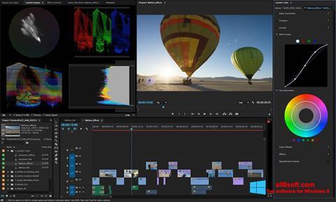 Capture d'écran Adobe Premiere Pro pour Windows 8