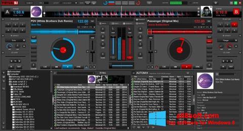 Capture d'écran Virtual DJ pour Windows 8
