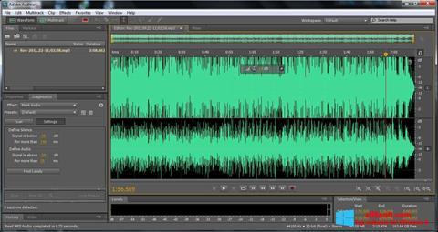Capture d'écran Adobe Audition pour Windows 8