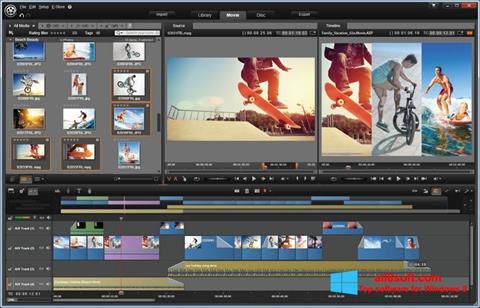 Capture d'écran Pinnacle Studio pour Windows 8