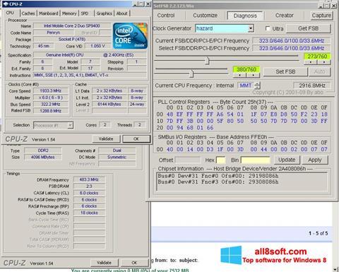 Capture d'écran SetFSB pour Windows 8