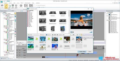 Capture d'écran VSDC Free Video Editor pour Windows 8