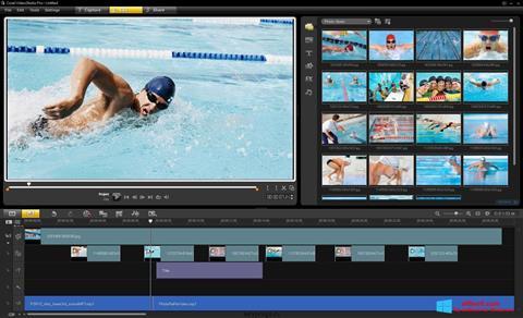 Capture d'écran Corel VideoStudio pour Windows 8