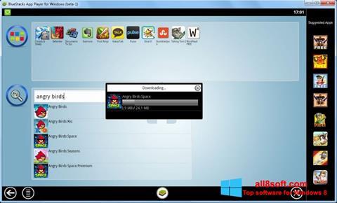 Capture d'écran BlueStacks pour Windows 8