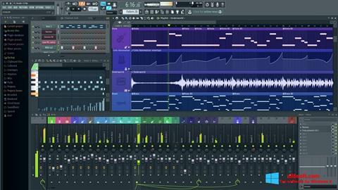 Capture d'écran FL Studio pour Windows 8