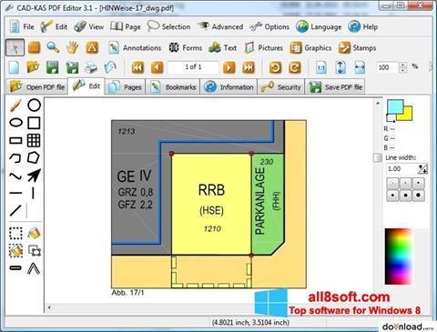 Capture d'écran PDF Reader pour Windows 8